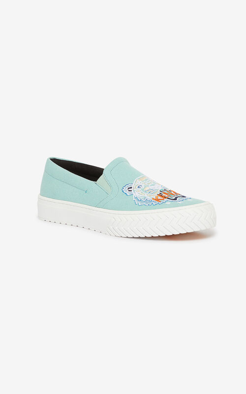AQUA Slip-on K-Skate Tiger shoes for unisex KENZO
