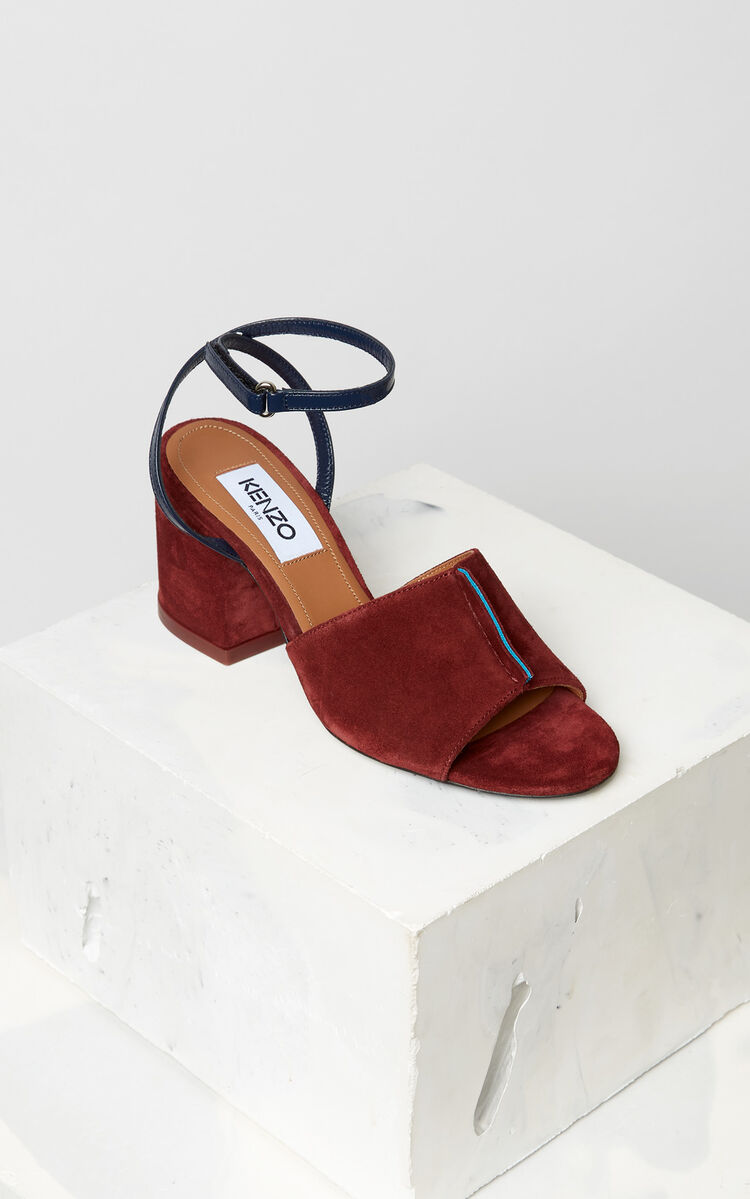 BORDEAUX Daria heeled sandals for women KENZO