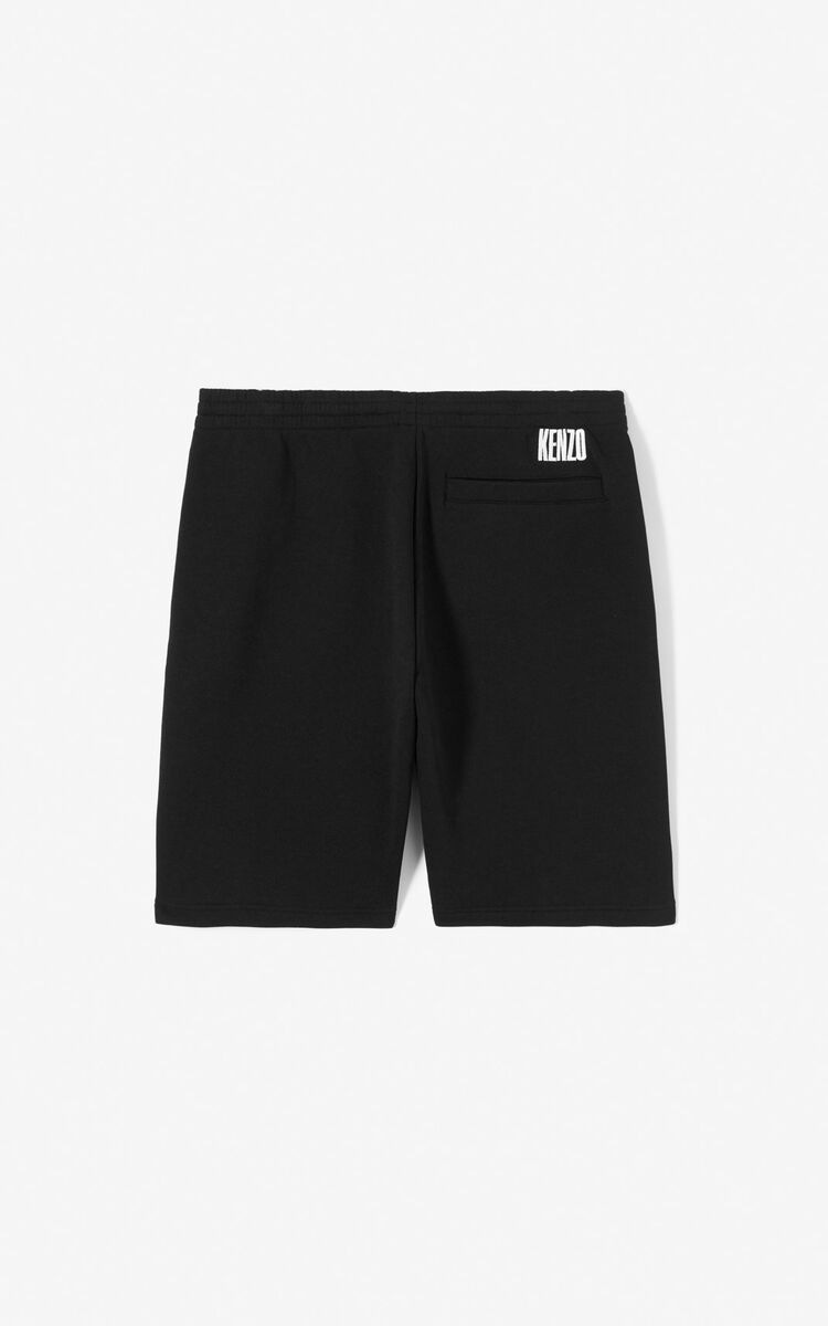 BLACK 'Rice Bags' shorts for women KENZO