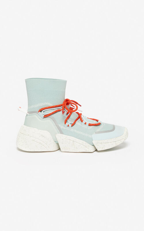 LIME TEA K-Sock sneakers for women KENZO
