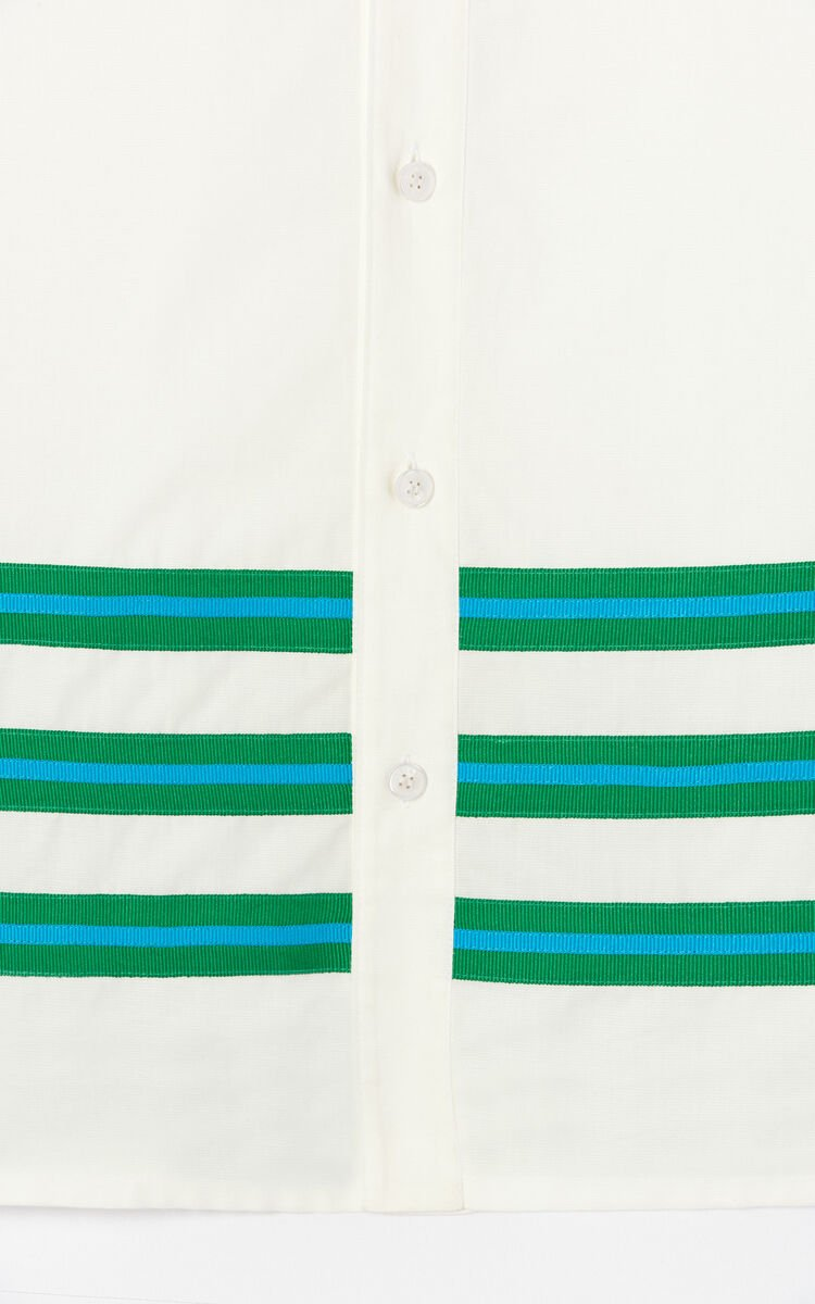 WHITE 'High Summer Capsule Collection' shirt for men KENZO