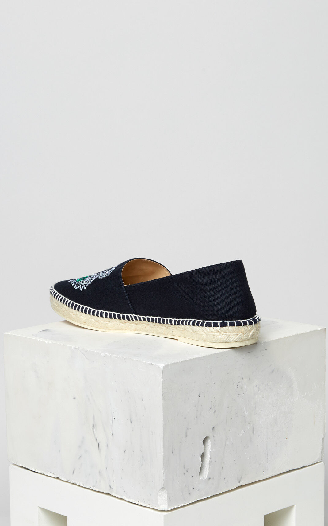 FRENCH BLUE Tiger espadrilles for men KENZO