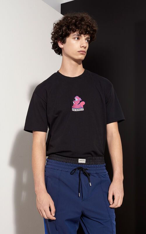 Badge  T-shirt, BLACK, KENZO