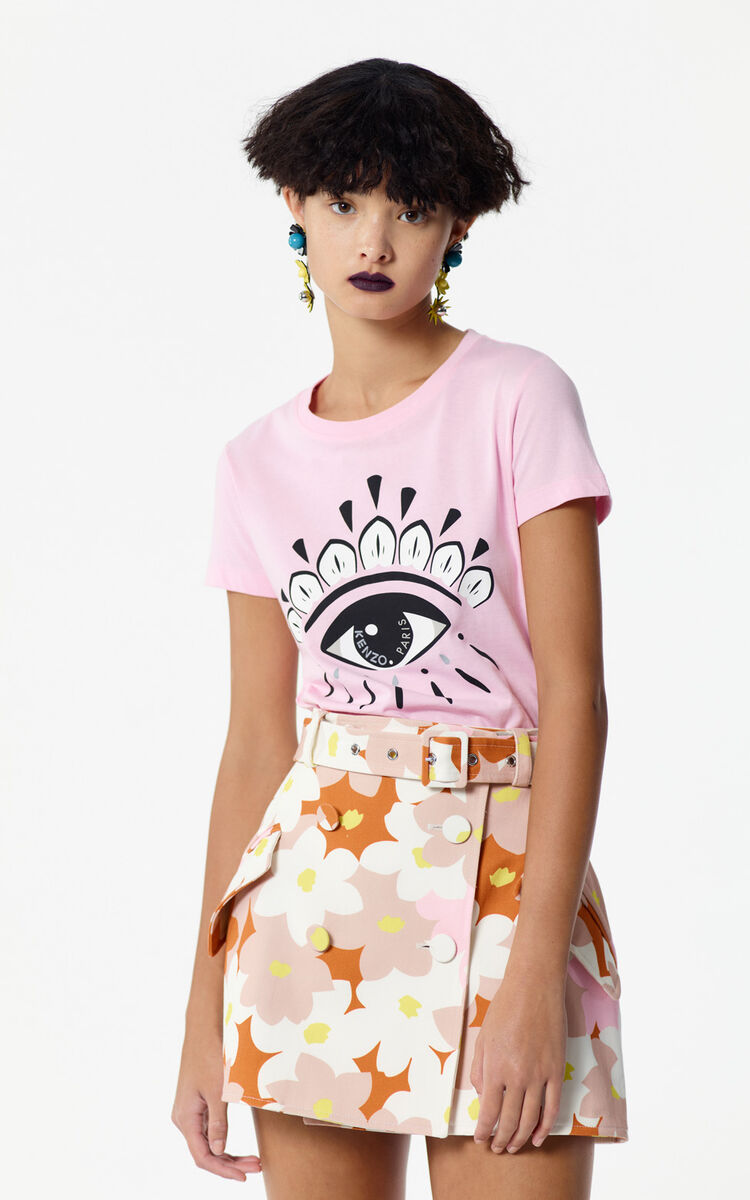 FLAMINGO PINK Eye t-shirt for men KENZO