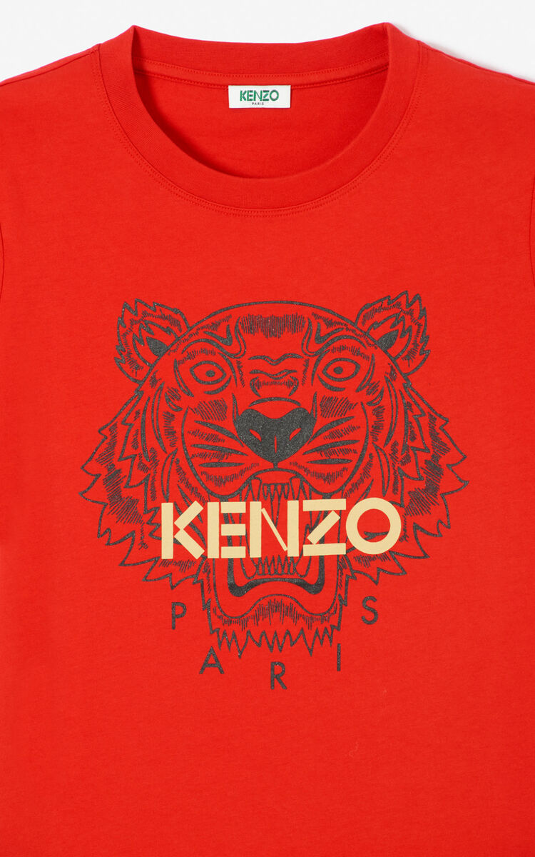 VERMILLION Tiger t-shirt for women KENZO