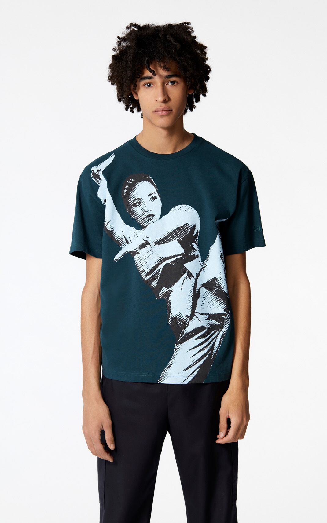 PINE 'Kung Fu' t-shirt for women KENZO