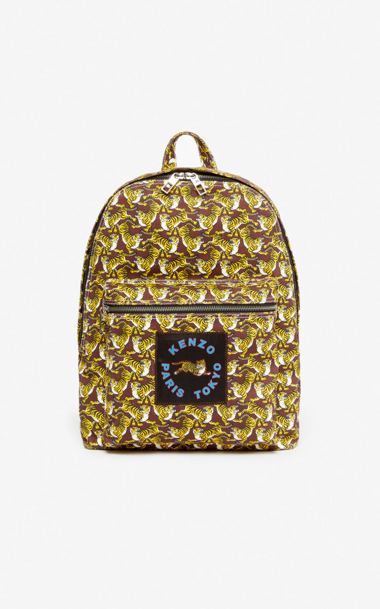 BORDEAUX 'Running Tiger' backpack for women KENZO
