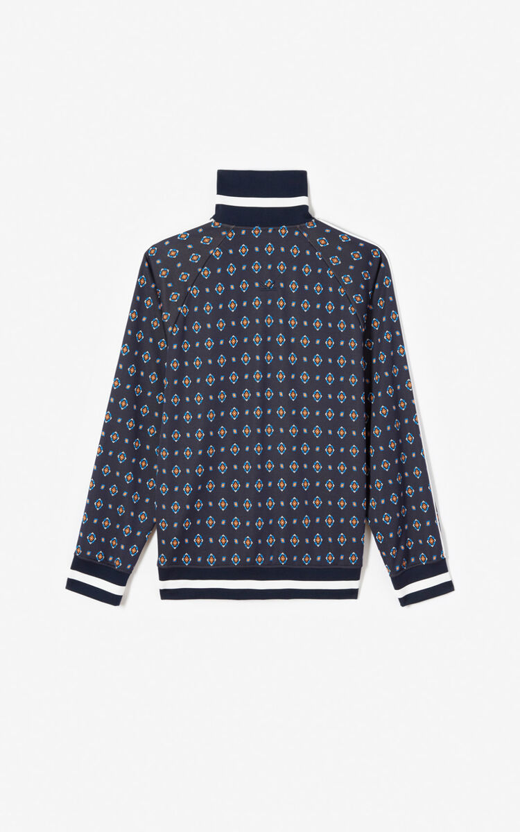 MIDNIGHT BLUE 'Médaillons' jacket for women KENZO