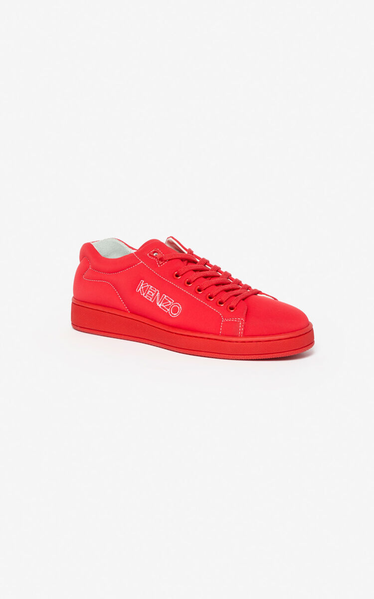 MEDIUM RED Tennix sneakers for women KENZO