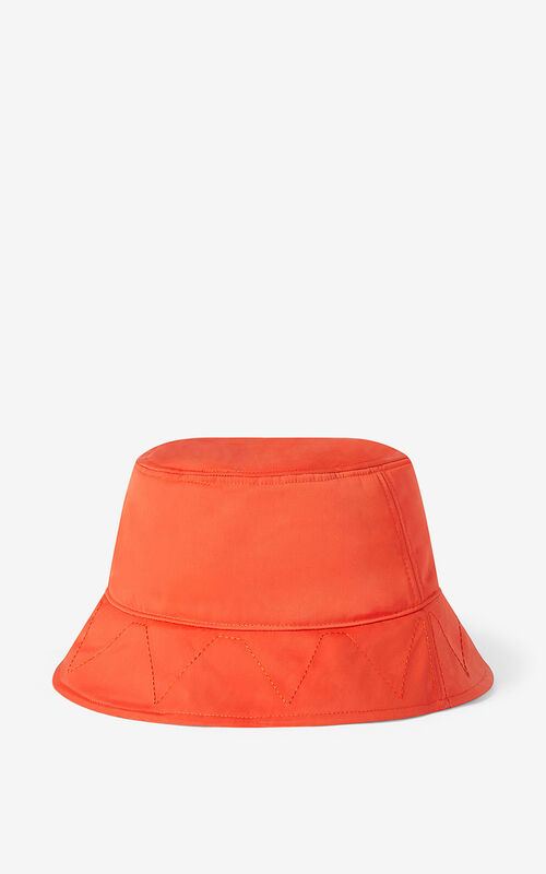 DEEP ORANGE KENZO Sport 'Little X' bucket hat for men