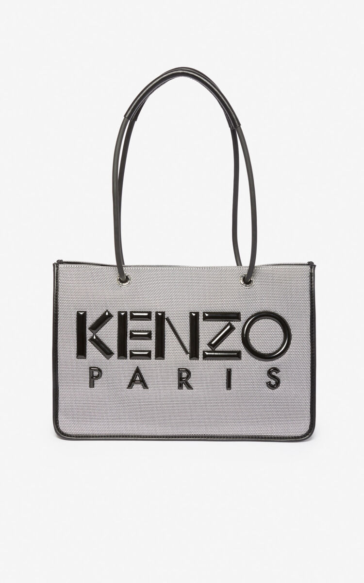 SILVER Kombo tote bag for unisex KENZO