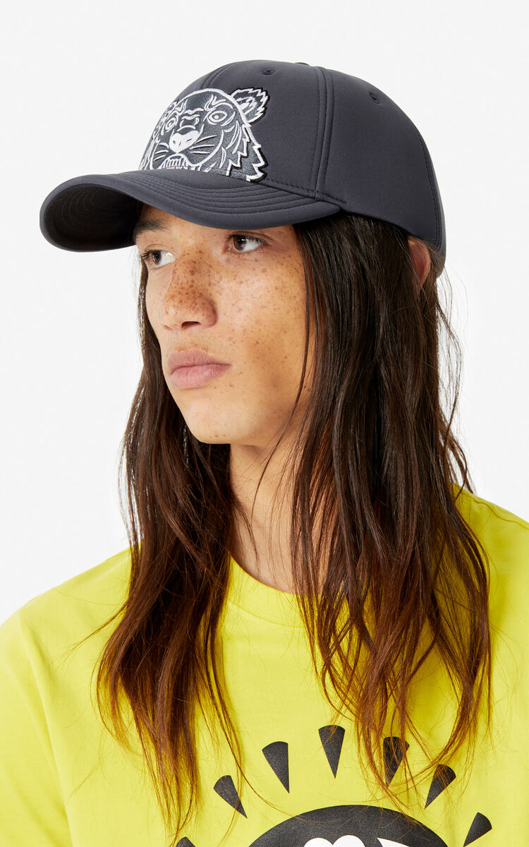 ANTHRACITE Tiger cap 'Capsule Back from Holidays' for unisex KENZO