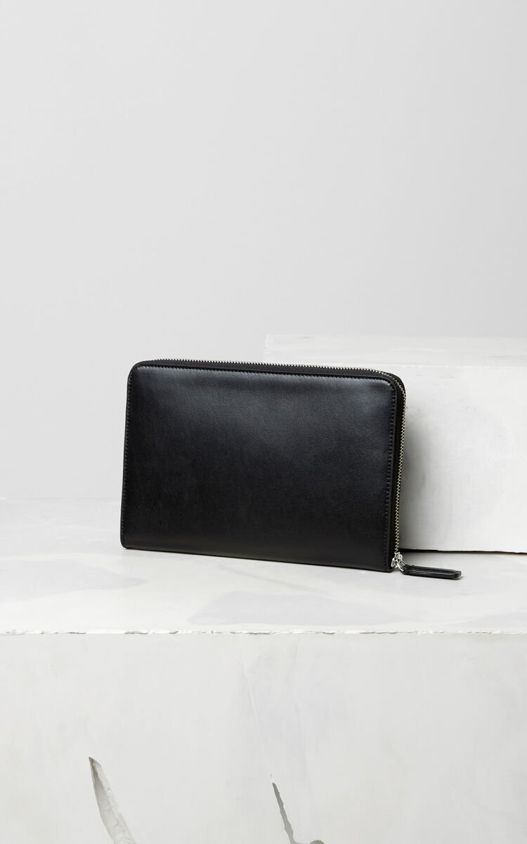 BLACK A5 Sailor clutch for women KENZO