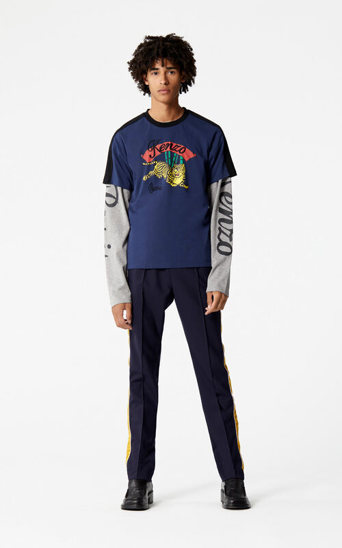 INK 'Bamboo Tiger' T-shirt 'Golden Week capsule' for men KENZO