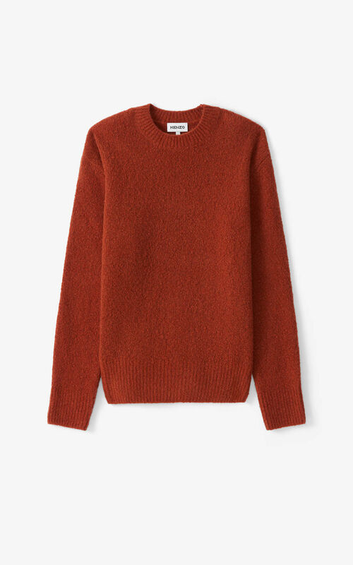 COGNAC Recycled cashmere K jumper for unisex KENZO