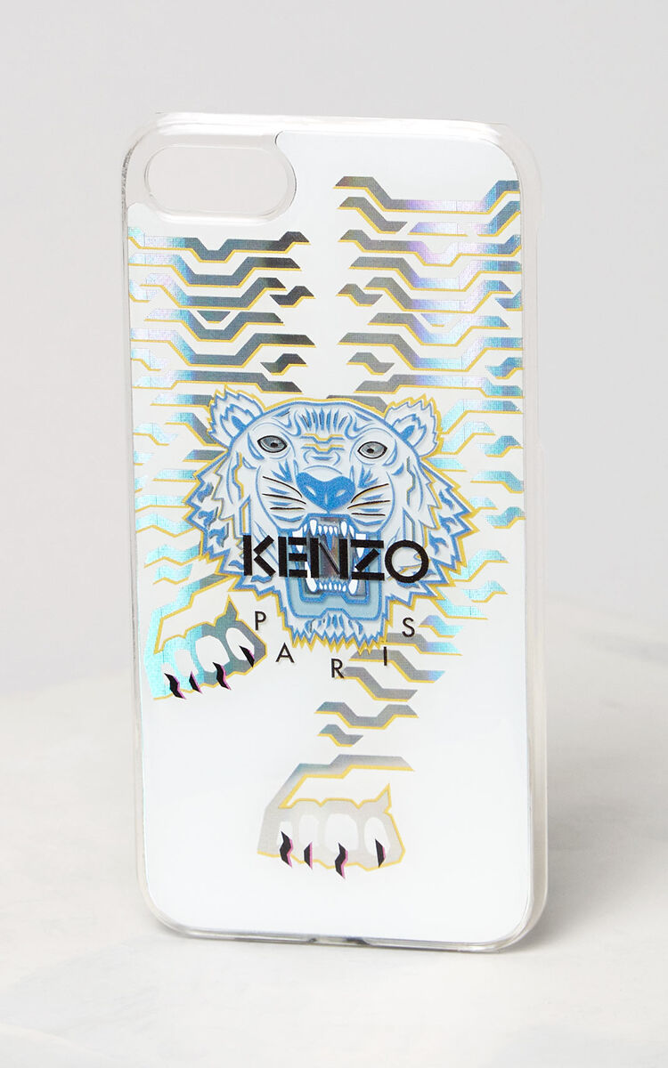 WHITE Geo Tiger iPhone 7/8 case for unisex KENZO