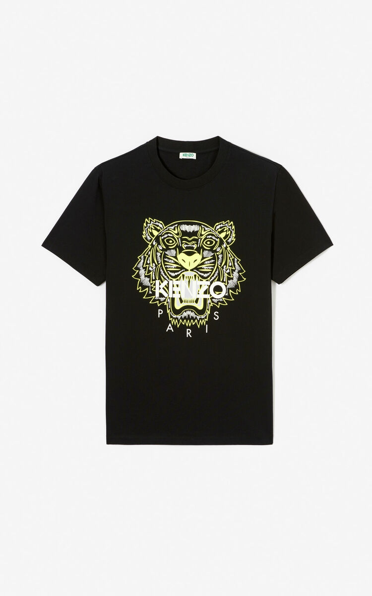 BLACK Tiger T-shirt 'High Summer Capsule collection' for women KENZO