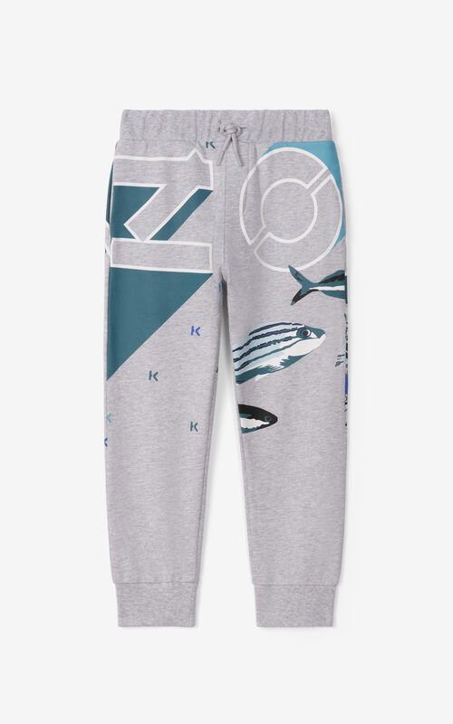 PEARL GREY Joggers for unisex KENZO