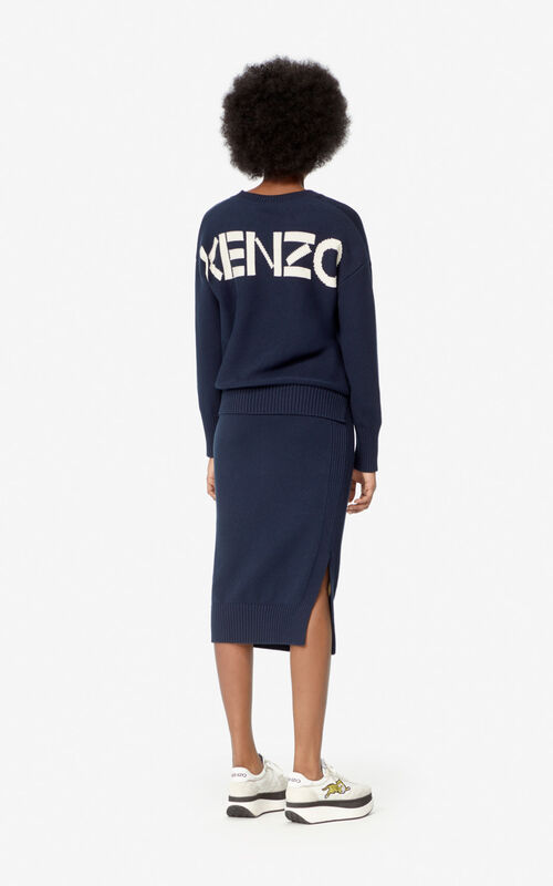 MIDNIGHT BLUE KENZO jumper for women