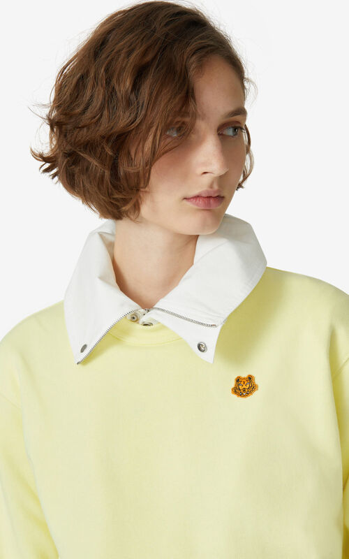 VANILLA Tiger Crest sweatshirt for women KENZO