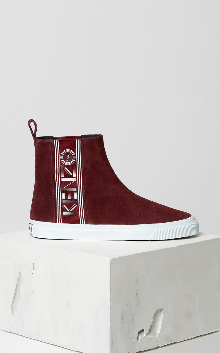 BORDEAUX Kapri slip-on high top shoes for women KENZO