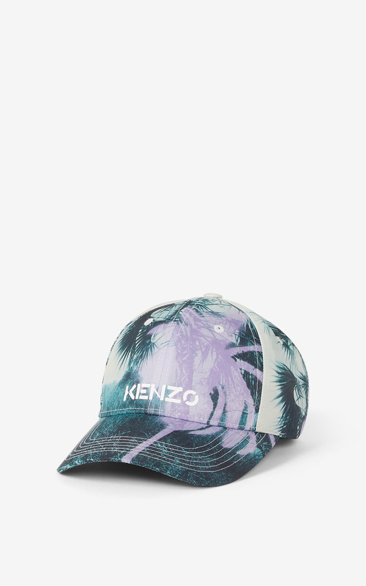 WISTERIA 'Hawaiian Graffiti' 'High Summer Capsule' baseball cap for women KENZO