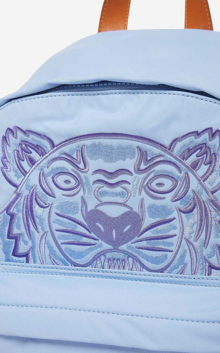 LAVENDER 'High Summer Capsule Collection' large Tiger backpack for men KENZO