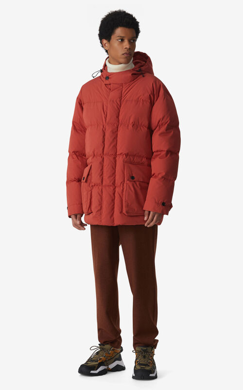 COGNAC Long parka for men KENZO