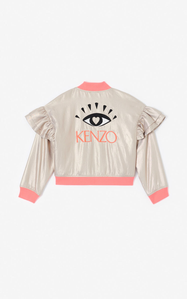 GOLD 'KENZO Party' Eye jacket for men