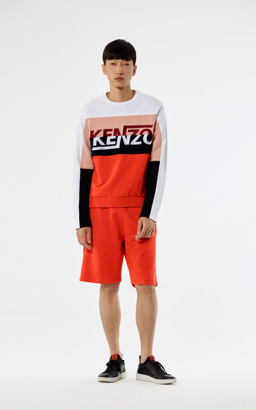 WHITE 'Hyper KENZO' sweatshirt for men