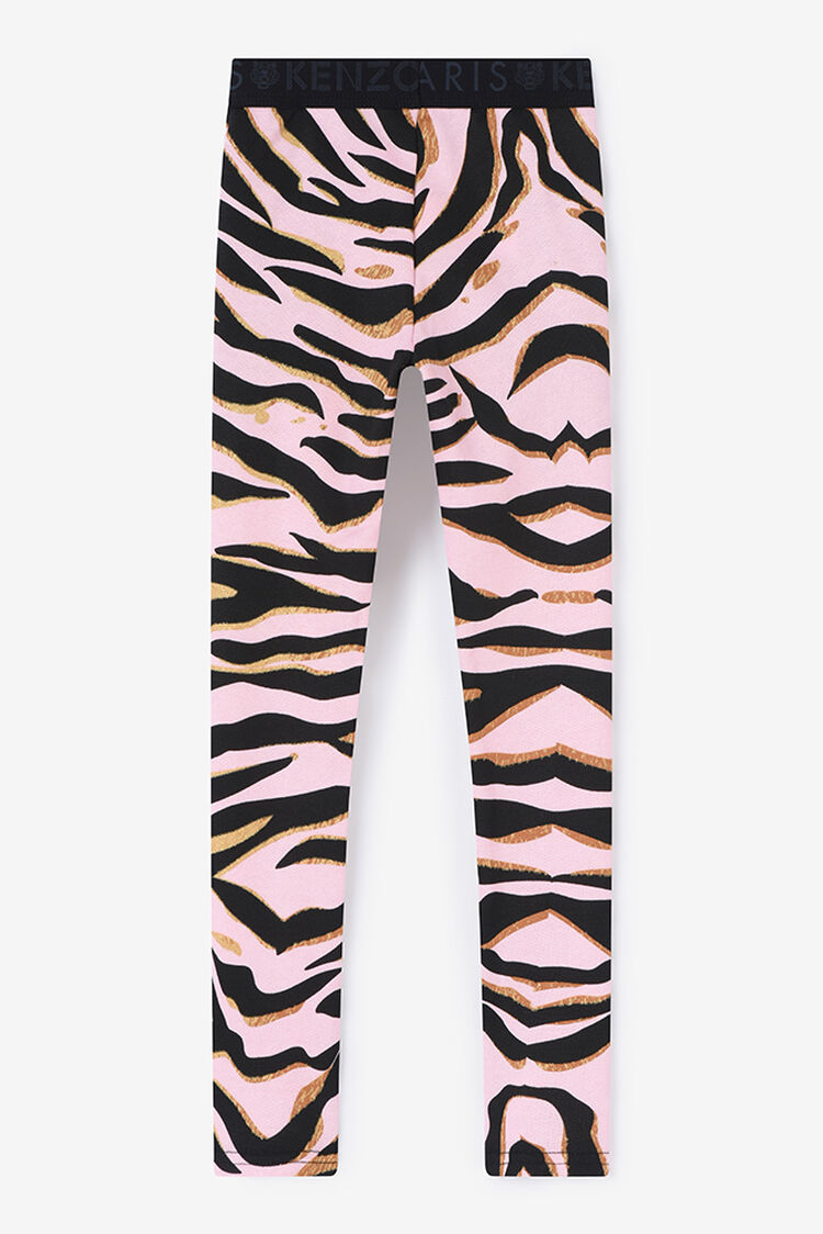 FADED PINK Tiger Stripes Jegging for women KENZO