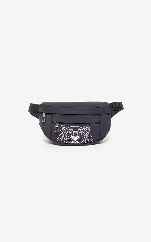 ANTHRACITE Tiger mini belt bag 'Capsule Back from Holidays' for unisex KENZO