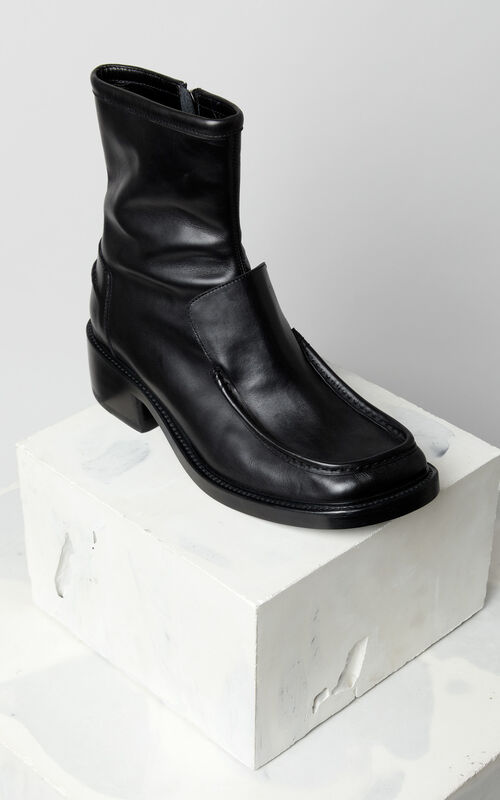 BLACK Boots for men KENZO