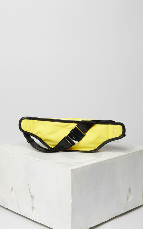 LEMON KENZO Logo banana bag for men