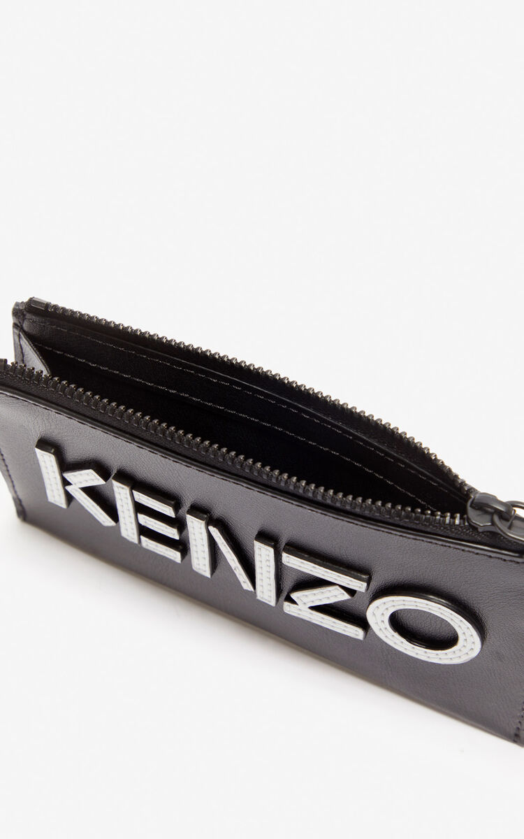 BLACK 'Holiday Capsule' KENZO Kontrast cardholder for unisex