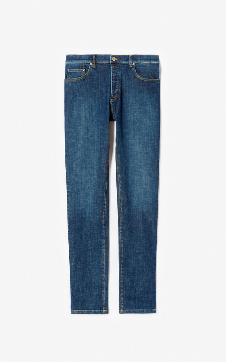 NAVY BLUE Slim-fit jeans for women KENZO