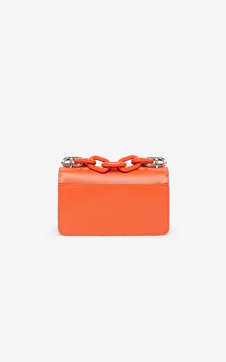 DEEP ORANGE Kandy bag   for unisex KENZO