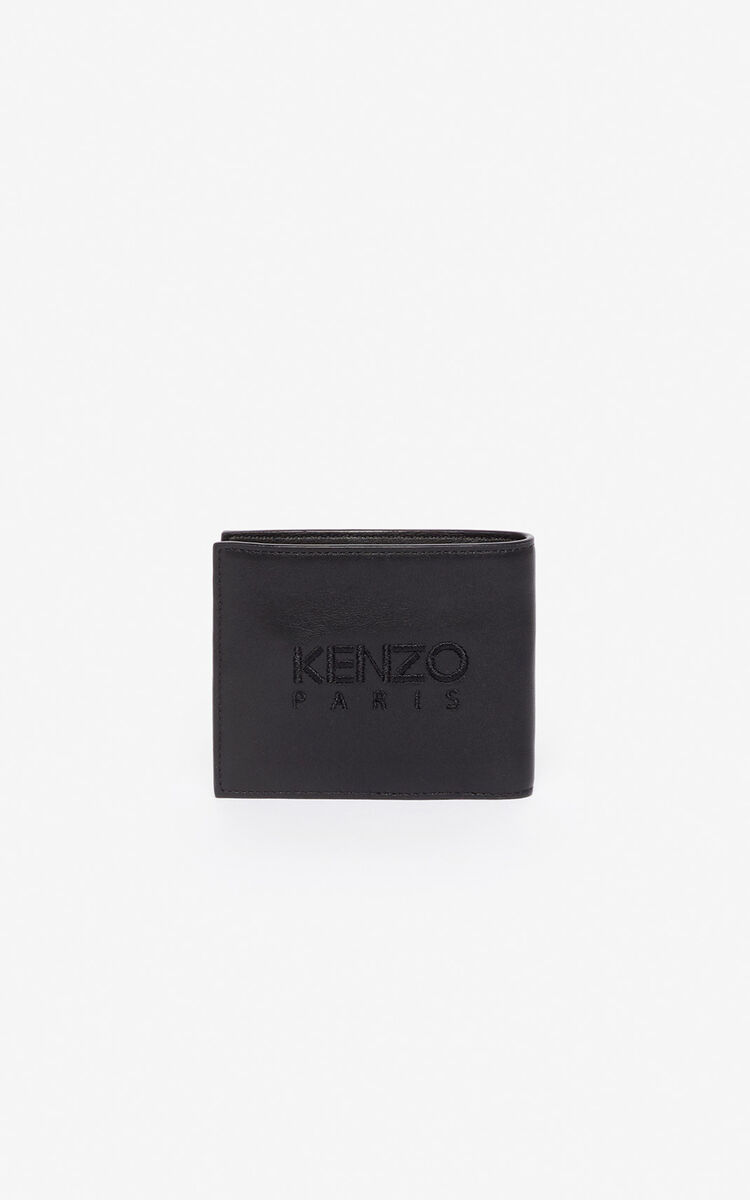 BLACK 'Kampus' Tiger wallet for women KENZO