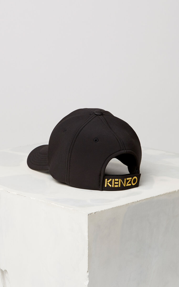 BLACK 'Chinese NY Capsule Collection' Tiger Neoprene Cap for unisex KENZO