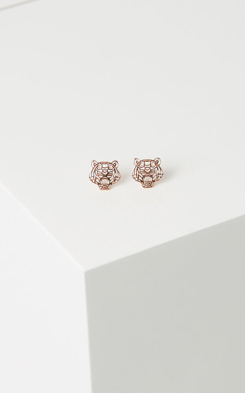 LICENCE 2 Mini Tiger Earrings for women KENZO