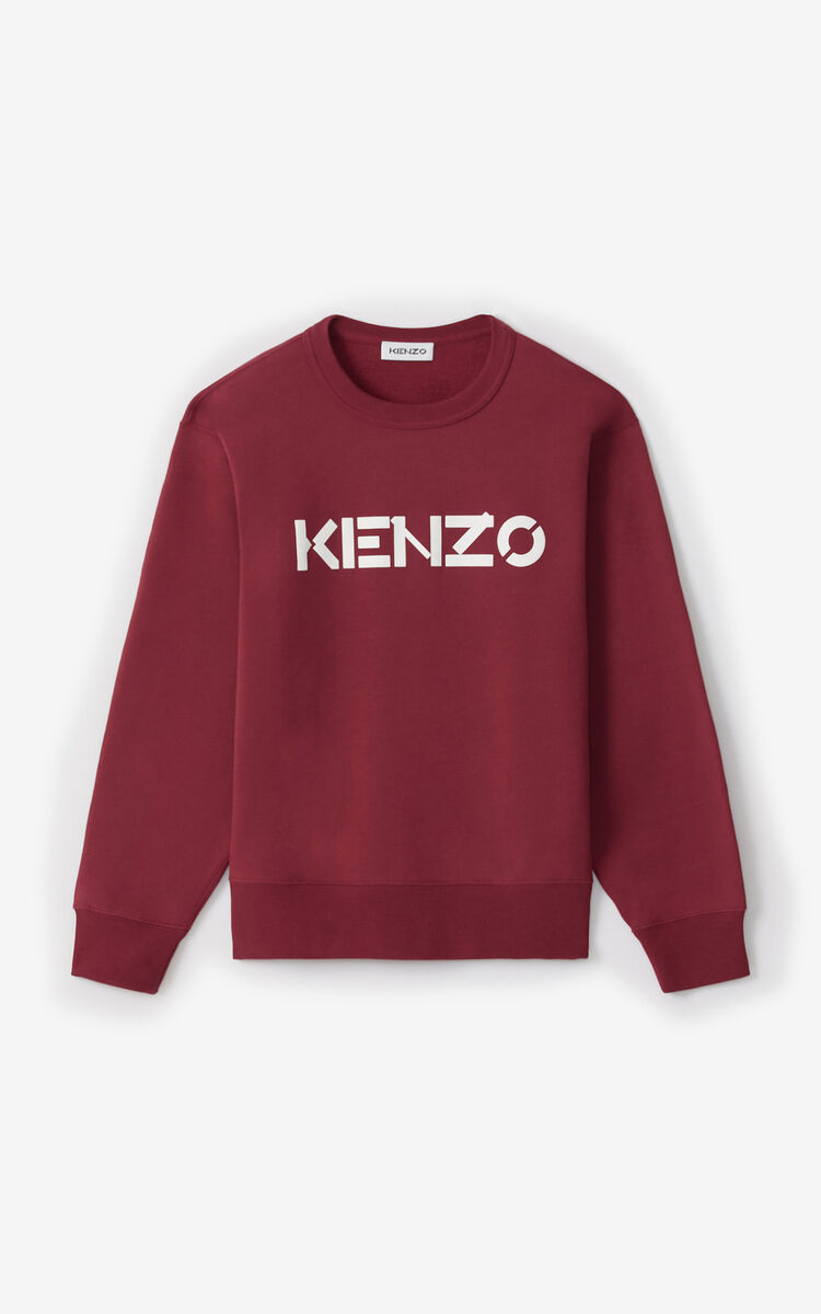 MAGENTA KENZO Logo sweatshirt for women