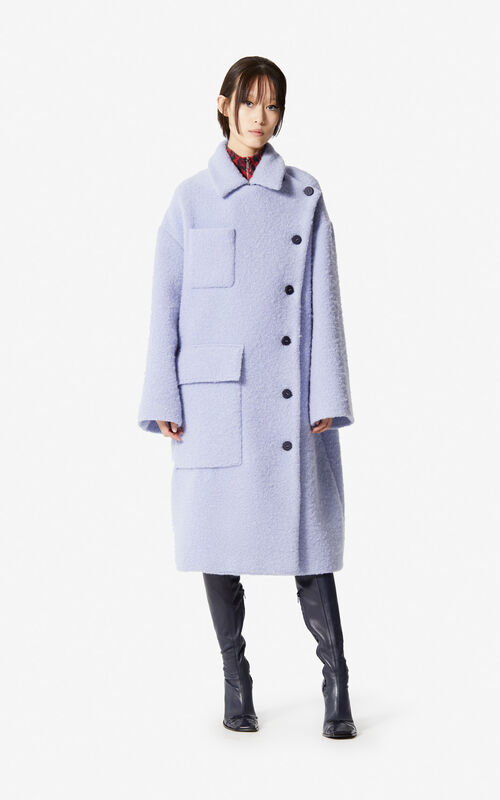 WISTERIA Asymmetric coat for women KENZO