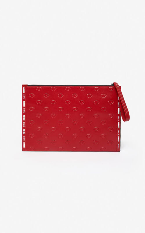 CHERRY Multi-Eye clutch for unisex KENZO
