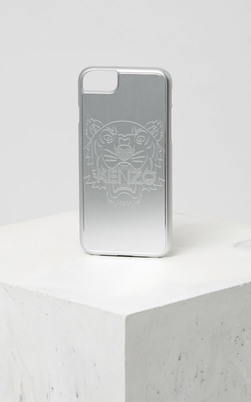 SILVER iPhone 7/8 Tiger Case for unisex KENZO