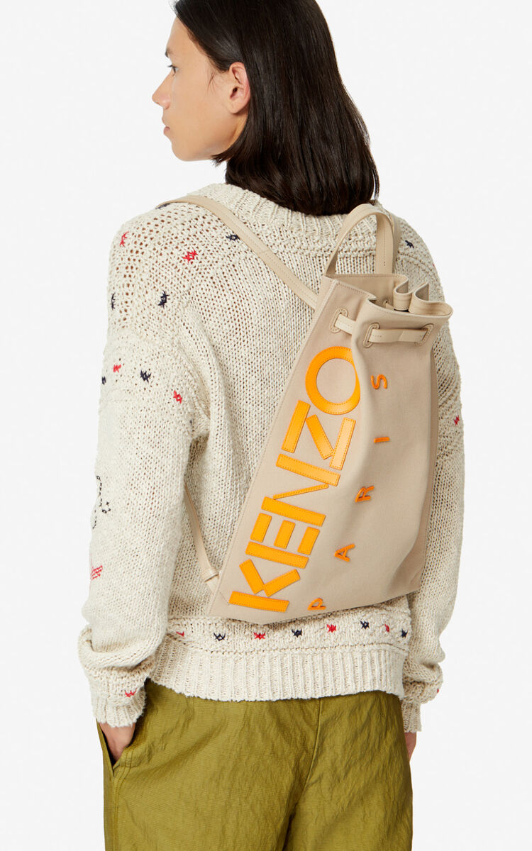 TAUPE Kontrast backpack for unisex KENZO