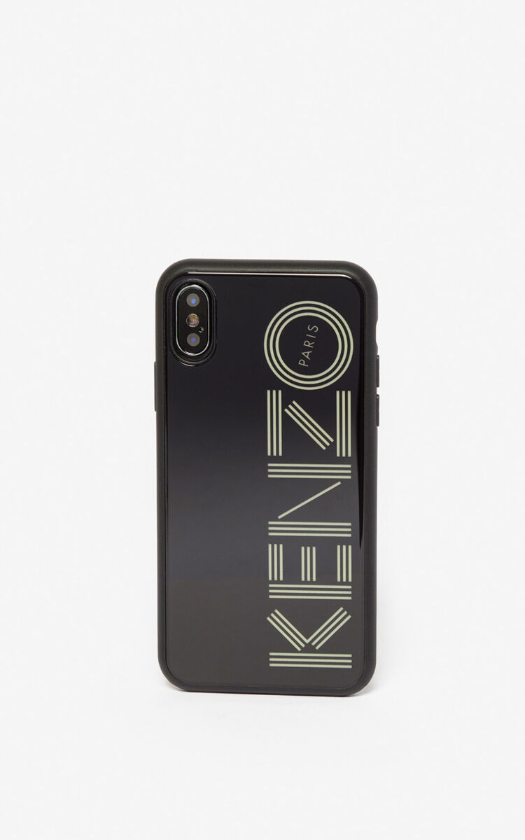 BLACK iPhone X/XS Case Fluorescent for unisex KENZO
