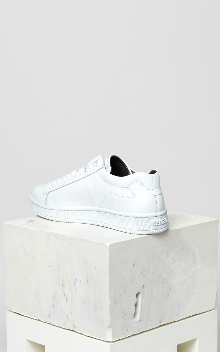 WHITE Tennix sneakers for men KENZO