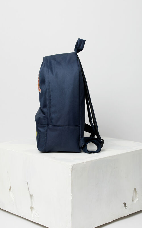 NAVY BLUE 'Fantastic Jungle' backpack for women KENZO