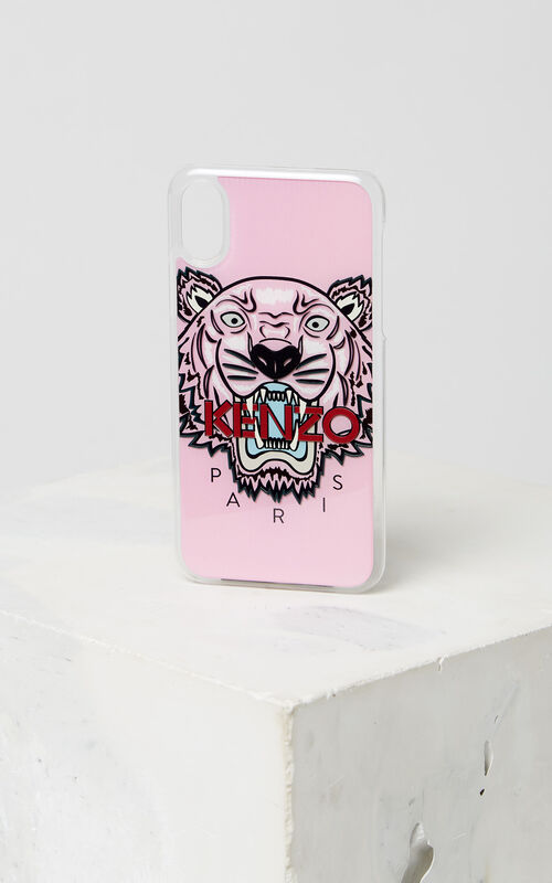 FADED PINK iPhone X/XS Tiger Case for unisex KENZO