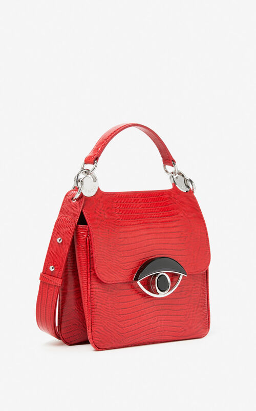 MEDIUM RED Large TALI crossbody bag for unisex KENZO
